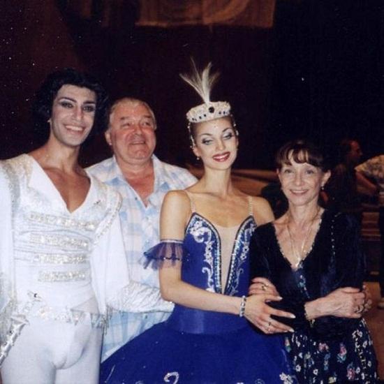 Николай Цискаридзе и Анастасия Волочкова фото