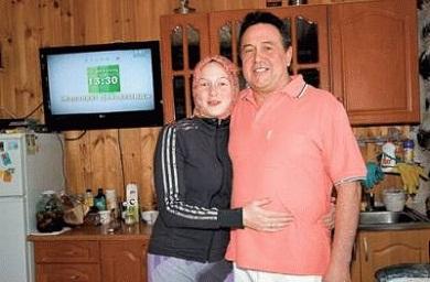 Ренат Ибрагимов с женой