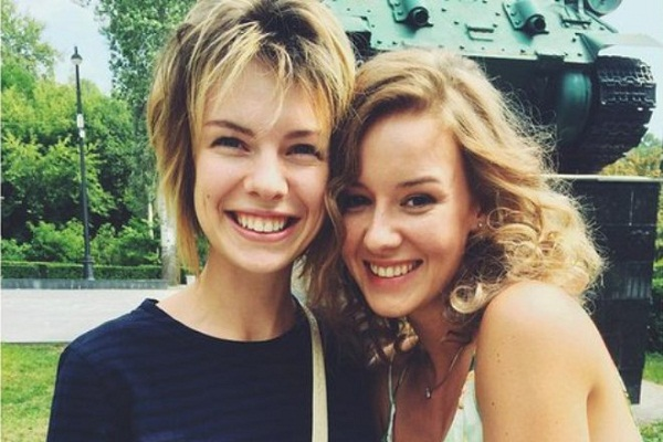 Ирина с тетей Анной Старшенбаум