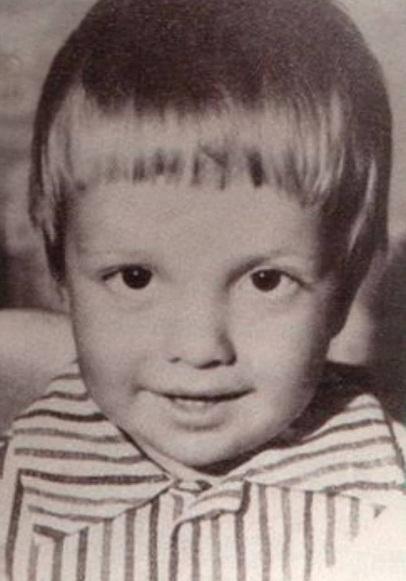 Андрей Губин в детстве