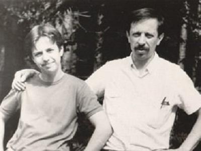 Андрей Губин с отцом