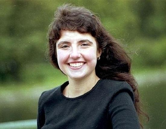 Политолог Янина Соколовская в молодости