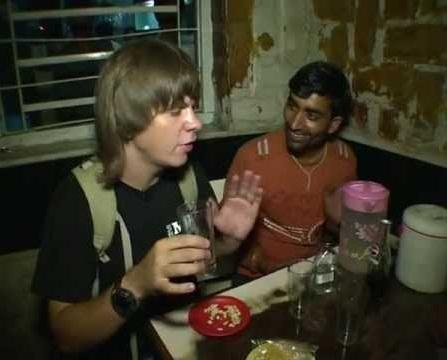 Дмитрий Комаров в Индии