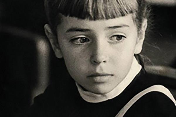 Наталья Барбье в детстве