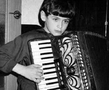 Пётр Дранга в детстве
