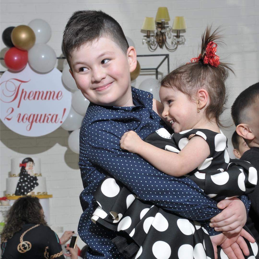 дети Оксаны Джелиевой