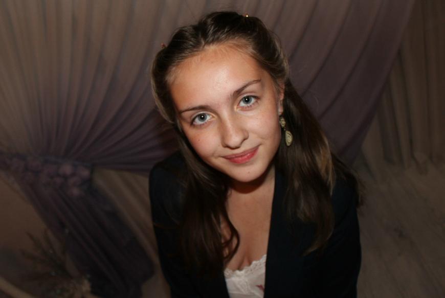 Lena Reif в школьные годы