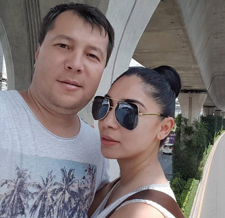 Райхон Уласенова с мужем