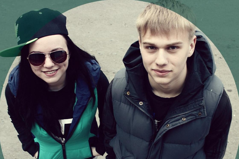 Инна Вальтер с братом