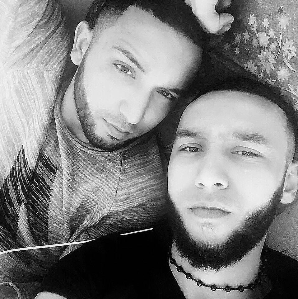 Бабек Мамедрзаев с братом