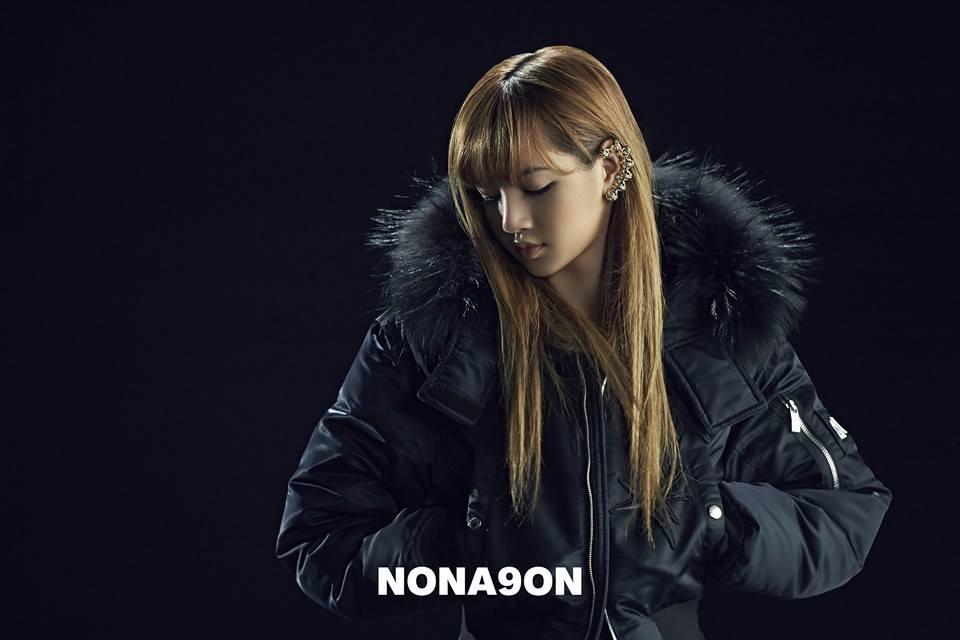 лиса блэк пинк Nona 9 On