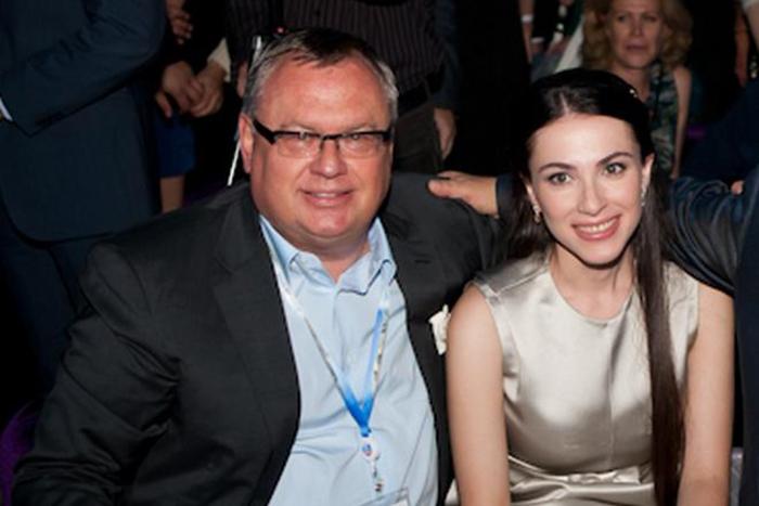 Андрей Костин и Наиля Аскер-Заде