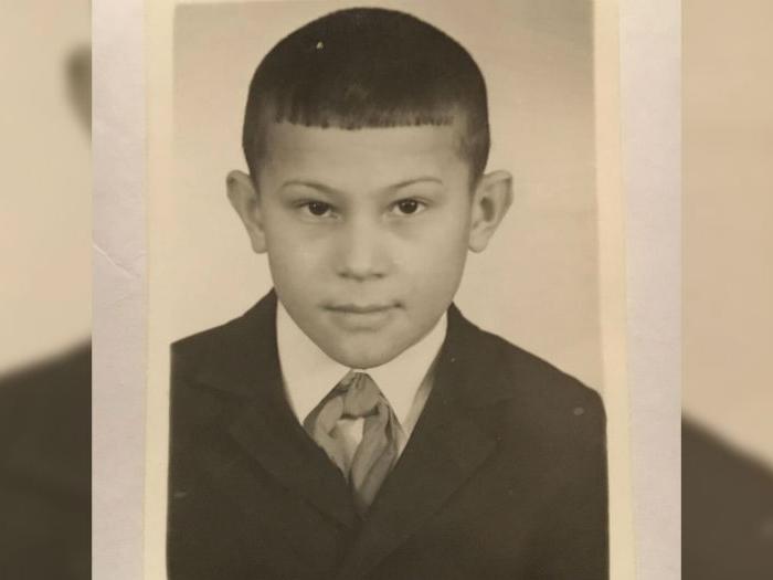 Радий Хабиров в детстве