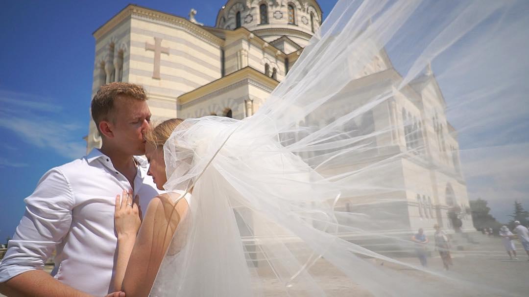 Сергей Васин и Вероника Иващенко свадьба