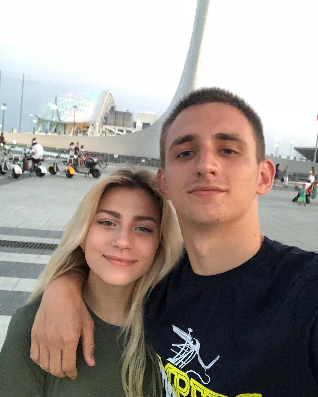 Михаил Литвин и Алина