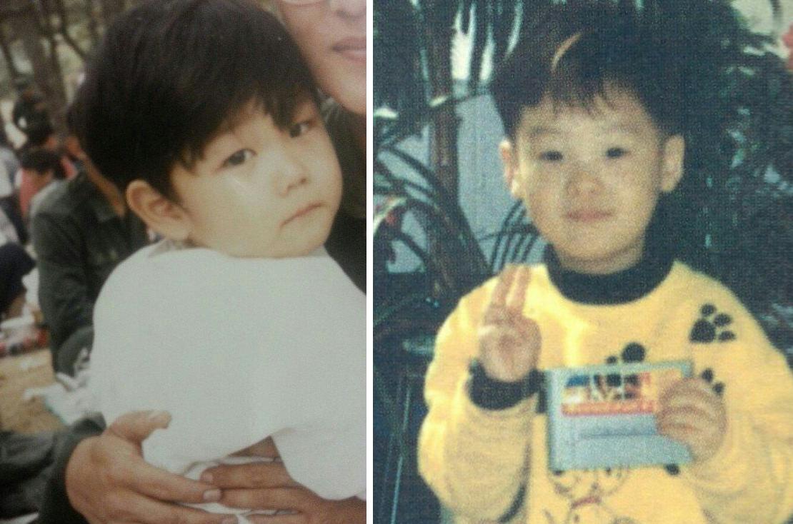 Мин Юнги в детстве