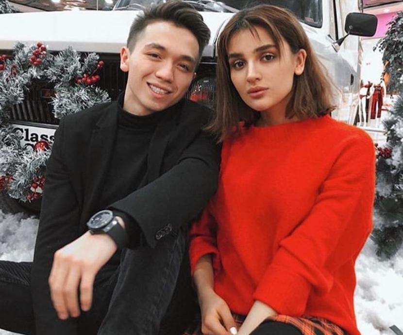Рахим Абрамов и Дина Саева