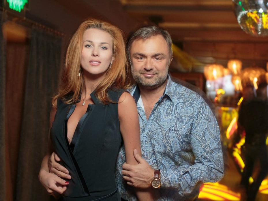Алина Засобина с мужем