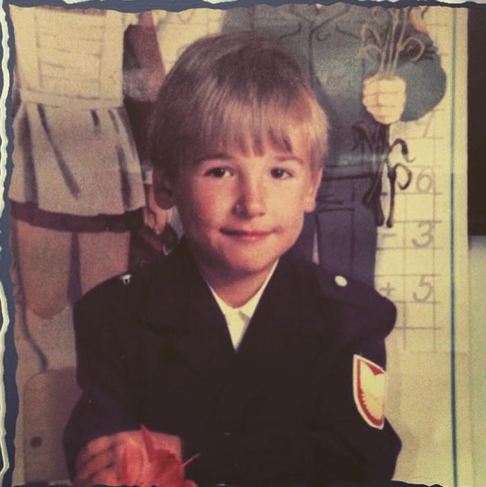 Александр Пташенчук в детстве