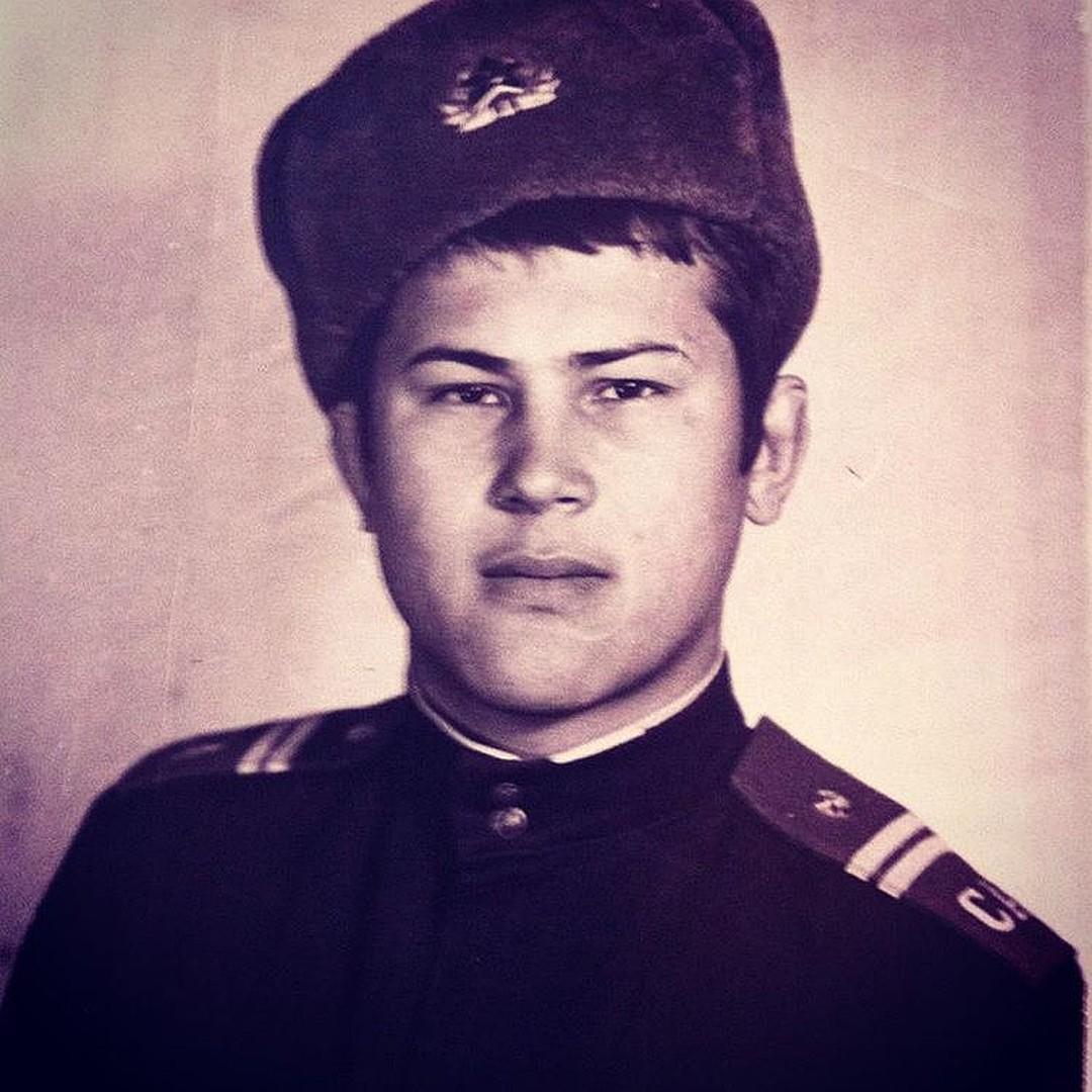 Радий Хабиров в армии