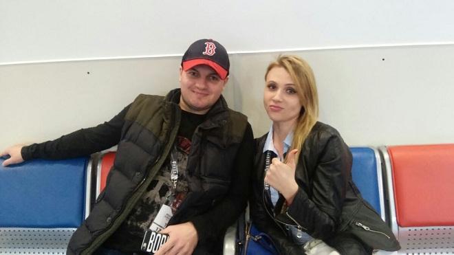 Дарья Миронова с мужем Сергеем Борисовым