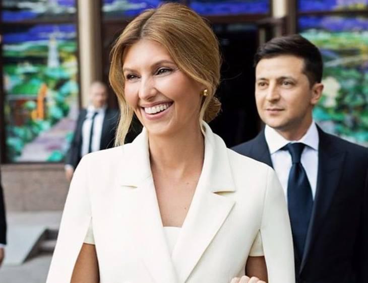 Первая леди Украины с супругом
