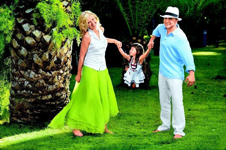 Супруги Зеленские с дочерью