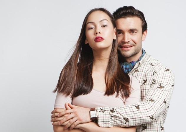 Захаров со своей женой