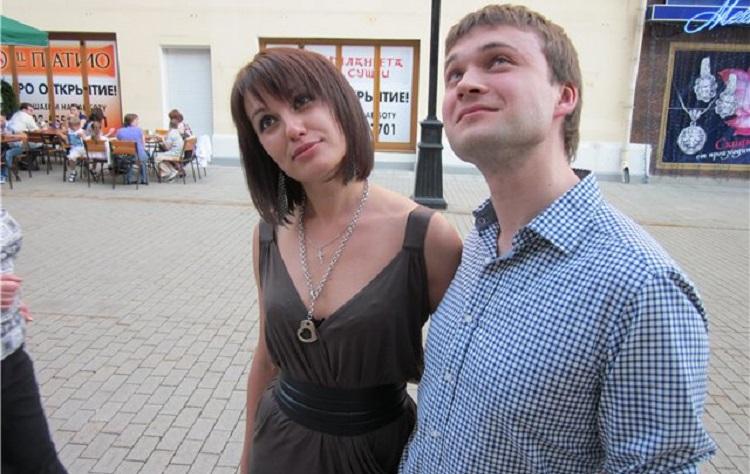 Елена Мироненко с мужем
