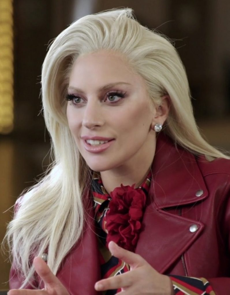 Леди Гага: в жизни началась белая полоса