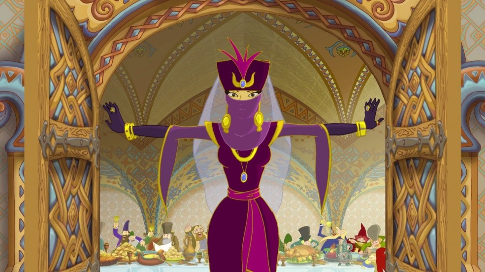 Кто озвучил женских персонажей в мультпроекте «Три Богатыря»
